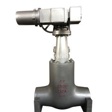 Motor Drived Pressure Seal Gate Valve
